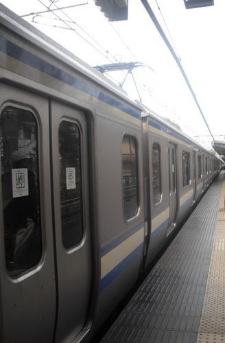 03) JR横須賀線「北鎌倉駅」。 「逗子駅」へ移動 _ 11:54am頃.JPG